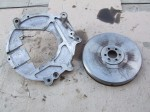 TiiCo Transmission Adapter Plate and Flywheel - back
