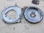 TiiCo Transmission Adapter Plate and Flywheel - front